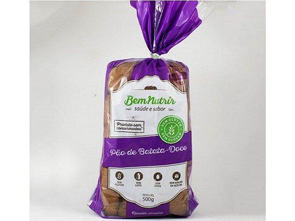 Pao de batata doce bem nutrir 500 gramas