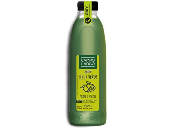 SUCO VERDE CAMPO LARGO COLD 900ML