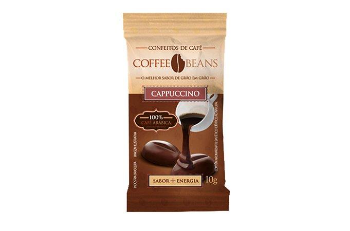 CAPPUCCINO 10 GRAMAS COFFEE BEANS