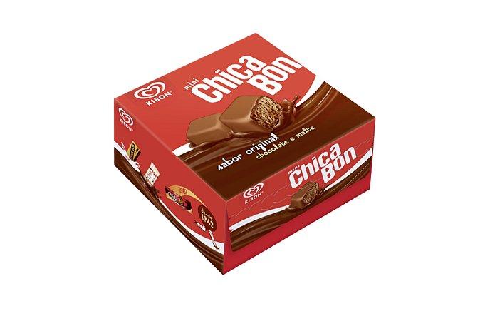 SORVETE MINI CHICABON CHOCOLATE 105 GRAMAS KIBON