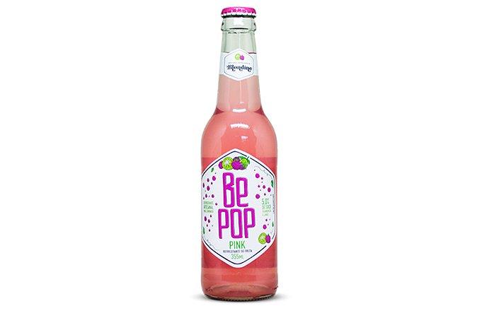 Refrigerante Pink Lemonade 355ml Be Pop
