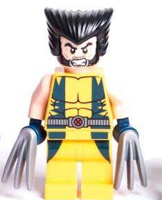 Boneco Wolverine Compatível Lego Marvel