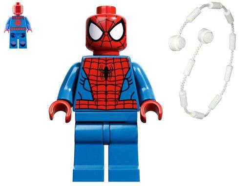Boneco Homem Aranha Compatível Lego Marvel