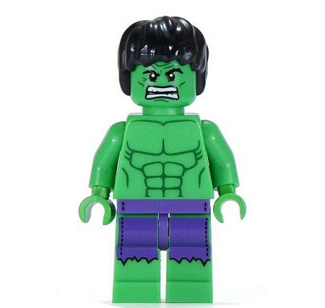 Boneco Hulk Compatível Lego Marvel