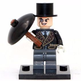 Boneco Pinguim Compatível Lego DC Comics