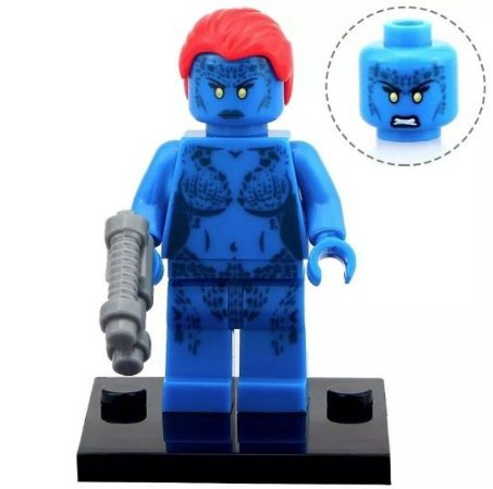 Boneco Mistica Compatível Lego Marvel