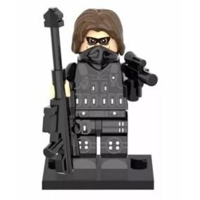 Boneco Soldado Invernal Compatível Lego Marvel