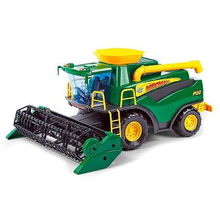 Colheitadeira Brinquedo Fazendeiro Agromax
