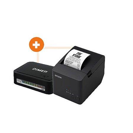 COMBO SAT DIMEP D-SAT 2.0 + IMP EPSON TM-T20x USB/SERIAL