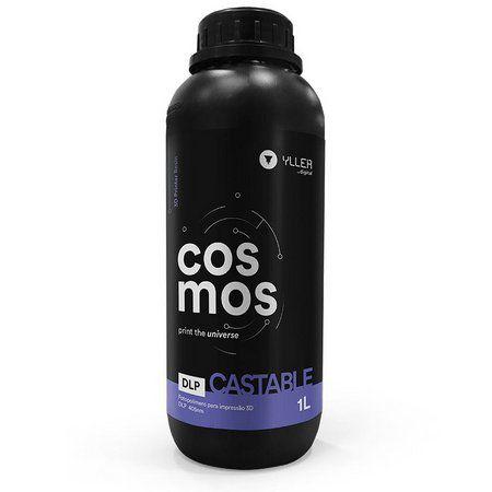 Cosmos DLP 405nm - Castable - 1 Litro | Resina para Impressão 3D