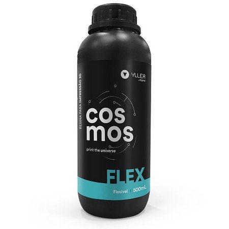 COSMOS DLP 405nm - FLEX - 500mL | Resina Flexível para Impressão 3D