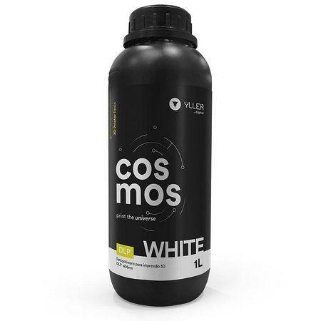 Cosmos DLP 405nm - White - 1Litro | Resina para Impressão 3D