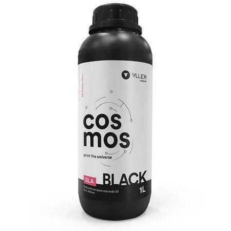 Cosmos SLA 405nm - Black - 1Litro | Resina para impressão 3D
