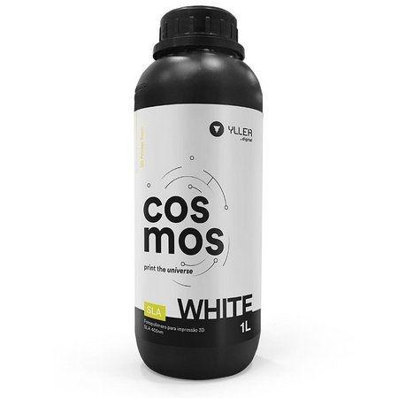 Cosmos SLA 405nm - White - 1Litro | Resina para impressão 3D