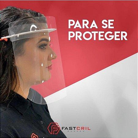 Máscara De Proteção Facial Transparente Face Shields