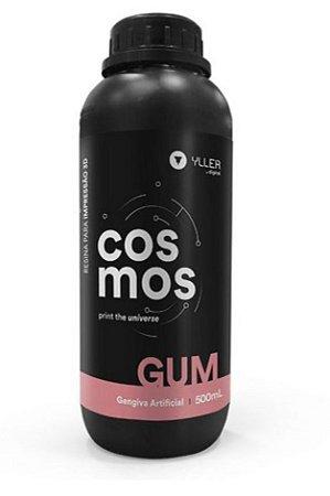 Cosmos Gum - Resina de impressora 3D para reprodução gengival - 500mL