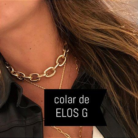 New! Colar De ELOS G Thassia