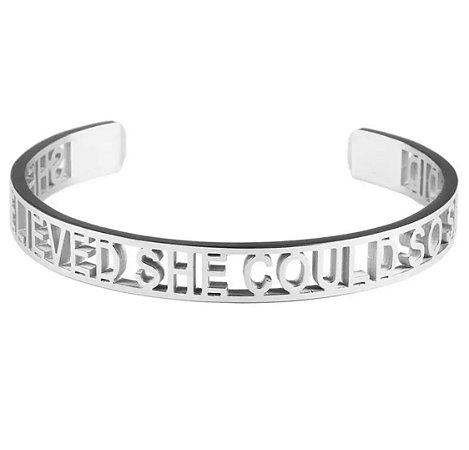 New! Bracelete Believe Rodio
