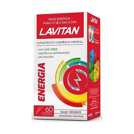 Lavitan Energia CIMED 60 Comprimidos