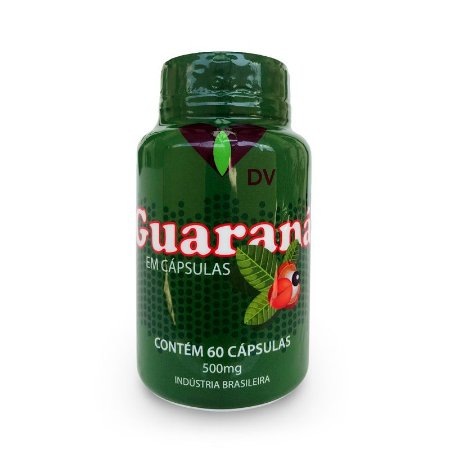 Guaraná DV 500mg 60 Cápsulas