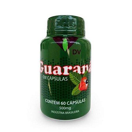 Guaraná DV 500mg 60 Cápsulas