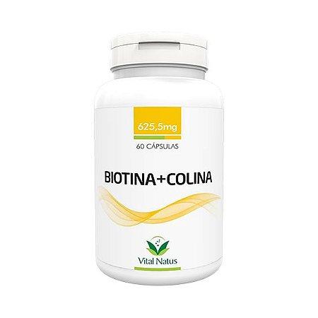 Biotina + Colina VITAL NATUS 625mg 60 Cápsulas