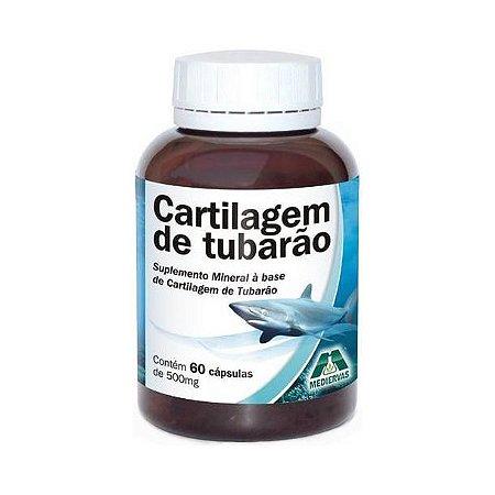 Cartilagem de Tubarão MEDIERVAS 500mg 60 Cápsulas