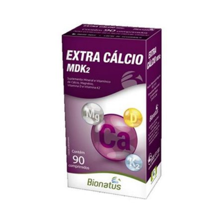 Extra Cálcio MDK2 c/ 90 Cps - BIONATUS