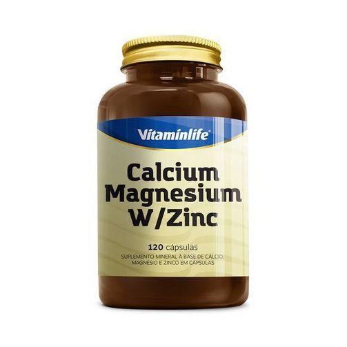 Calcium Magnesium Zinc 120 Cápsulas VITAMIN LIFE