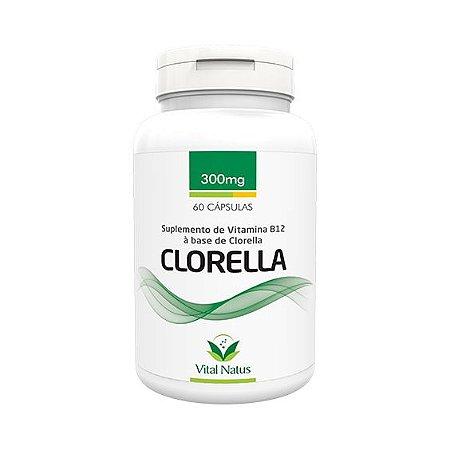 Clorella VITAL NATUS 300mg 60 Cápsulas