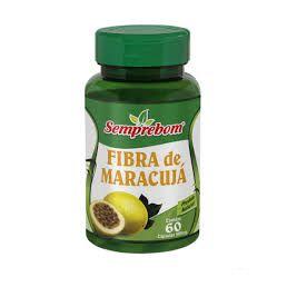 Fibra de Maracujá SEMPREBOM 500mg 60 Cápsulas