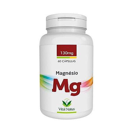 Magnésio Quelato VITAL NATUS 130mg 60 Cápsulas