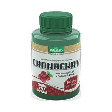 Cranberry VITALAB 500mg 60 Cápsulas