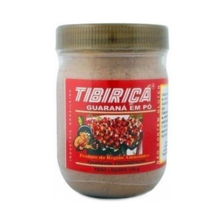 Guaraná em Pó TIBIRIÇA 120g