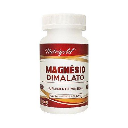 Magnésio Dimalato NUTRIGOLD 60 Cápsulas