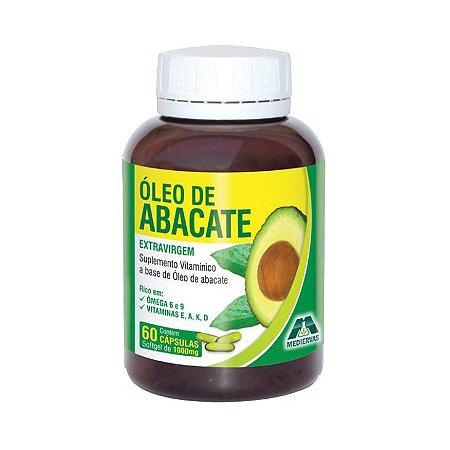 Óleo de Abacate Extravirgem MEDIERVAS 1000mg 60 Cápsulas