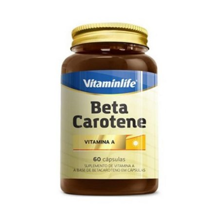 Beta Caroteno (Vitamina A) VITAMINLIFE 60 Cápsulas