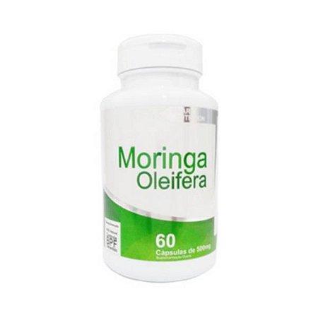 Moringa (Moringa oleifera) 4 ELEMENTOS 500mg 60 Cápsulas