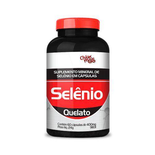 Selênio Quelato CHÁ MAIS 400mg 60 Cápsulas