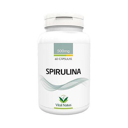 Spirulina VITAL NATUS 500mg 60 Cápsulas