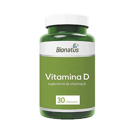 Vitamina D BIONATUS 30 Cápsulas