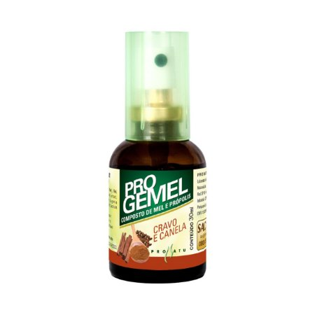 Progemel Spray de Própolis Mel Cravo Canela PRONATU 30ml