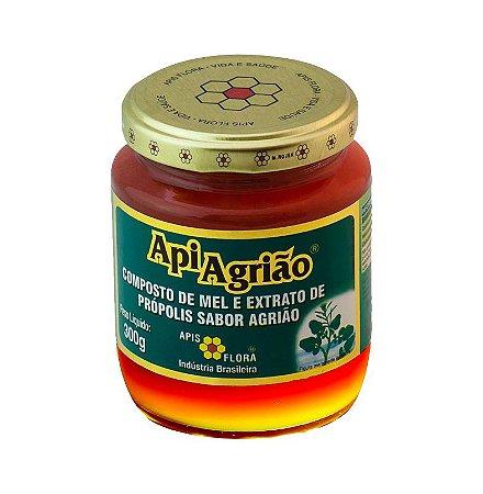 ApiAgrião Composto de Mel Extrato de Própolis e Agrião APIS FLORA 300g