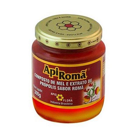 ApiRomã Composto de Mel Extrato de Própolis e Romã APIS FLORA 300g