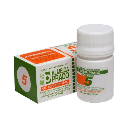 Complexo Homeopático Nº 5 ALMEIDA PRADO 60 Comprimidos