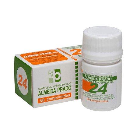 Complexo Homeopático Nº 24 ALMEIDA PRADO (Dentição) 60 Comprimidos