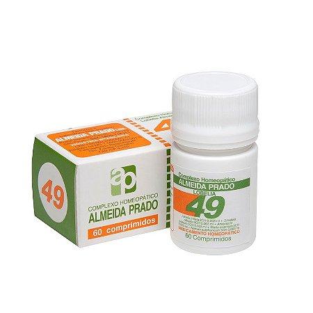 Complexo Homeopático Nº 49 ALMEIDA PRADO 60 Comprimidos
