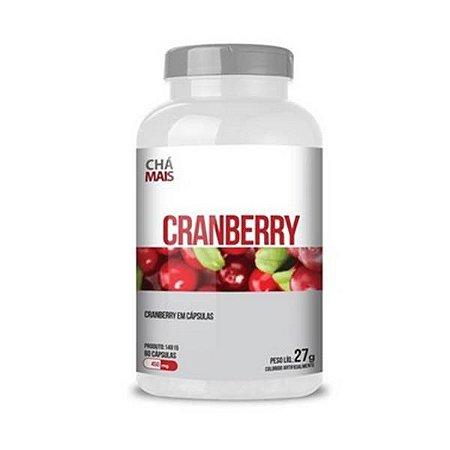 Cranberry CHÁ MAIS 450mg 60 Cápsulas