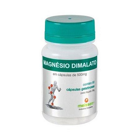 Malato de Magnésio MEISSEN 500mg 60 Cápsulas