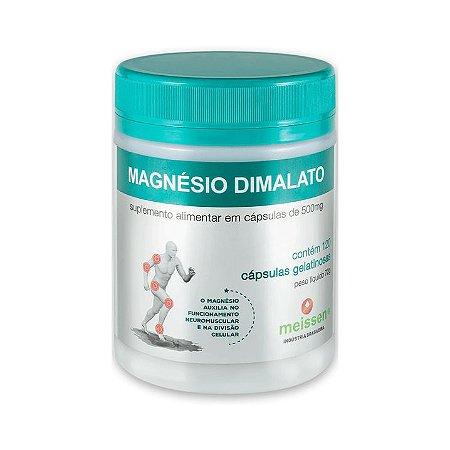 Magnésio Dimalato MEISSEN 500mg 120 Cápsulas